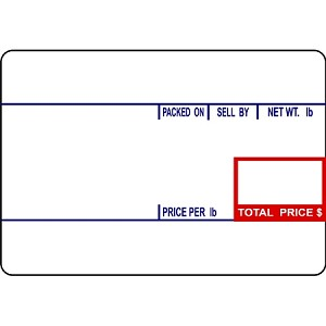 CAS LP-1000 #8010 UPC Thermal Labels