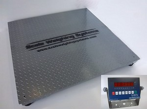 Scale Weighing Systems, SWS-7620DFS-LED-HC Digital Floor Scale