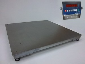 Scale Weighing Systems, SWS-7620DFS-LED-SS Washdown Digital Floor Scale