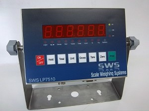 Scale Weighing Systems LP7510W SS LED WashDown Indicator